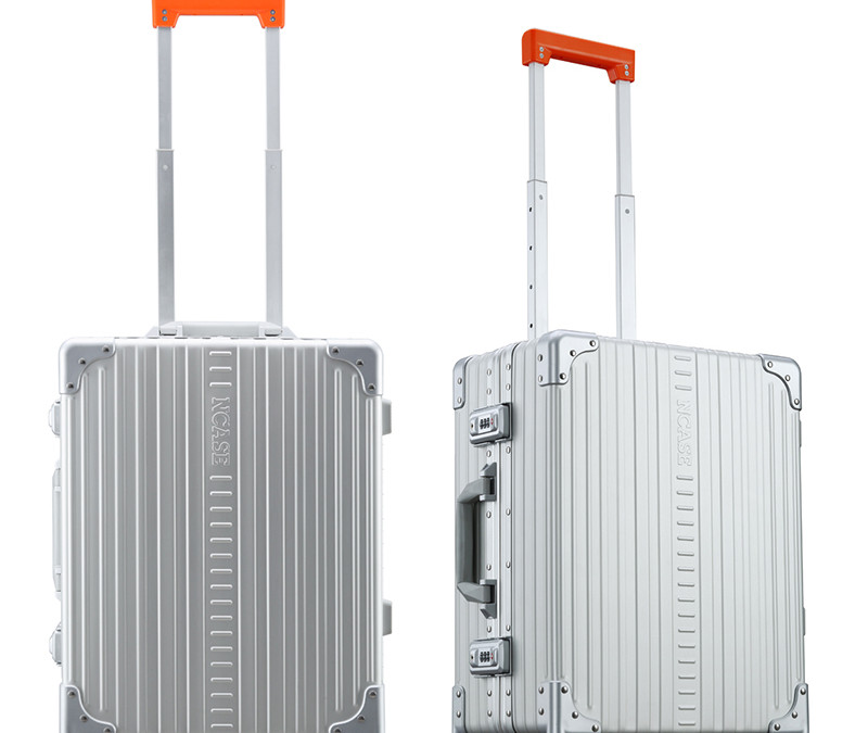 M2255 22-inch Modern Carry-on Silver